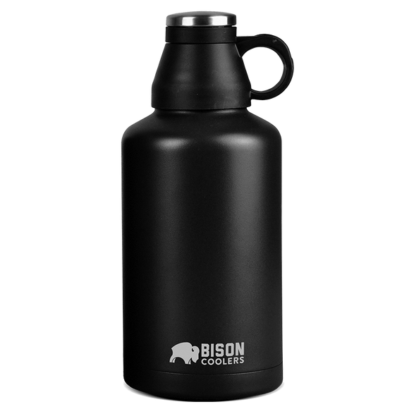 Bison Growler- 64oz Stainless Steel