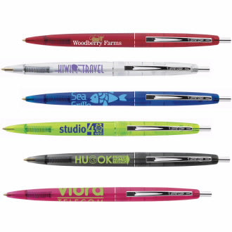 BIC® Clear Clics® Pen