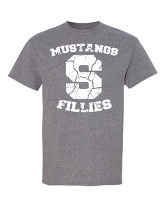 Sutton Mustangs & Fillies Tee