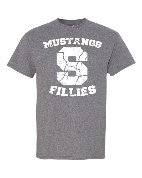 Sutton Mustangs & Fillies Tee - Youth