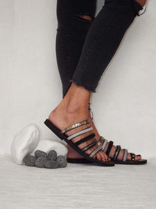 Dizzy Noir Sandals