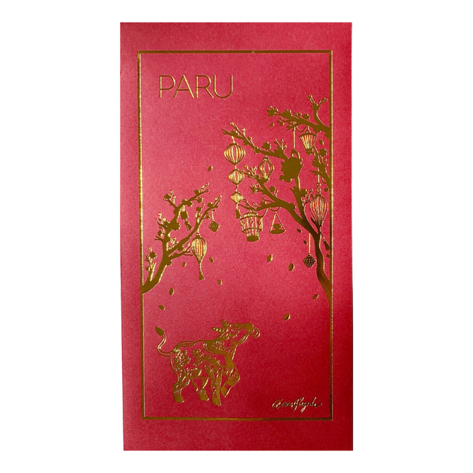 Anie Quynh for PARU red envelope