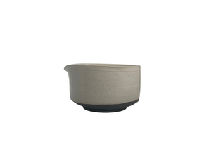 PARU Matcha Bowl by MAEK - Black Clay