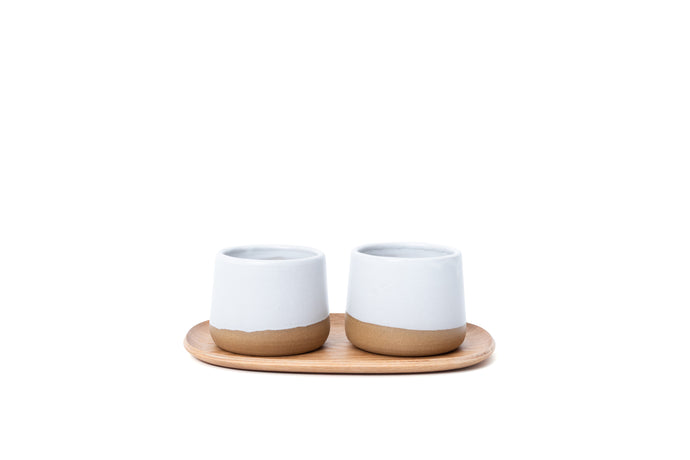 PARU X MAEK Teaware Collection: Set of 2 Teacups - Vol. 2