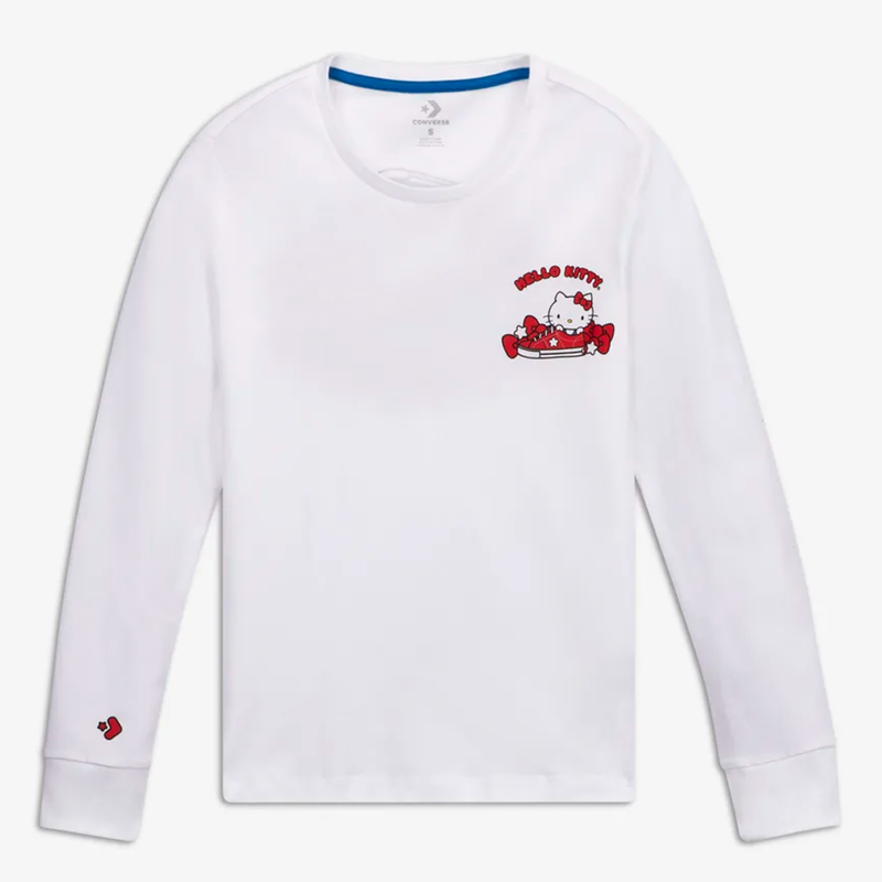 CONVERSE X Hello Kitty Long Sleeve T-Shirt