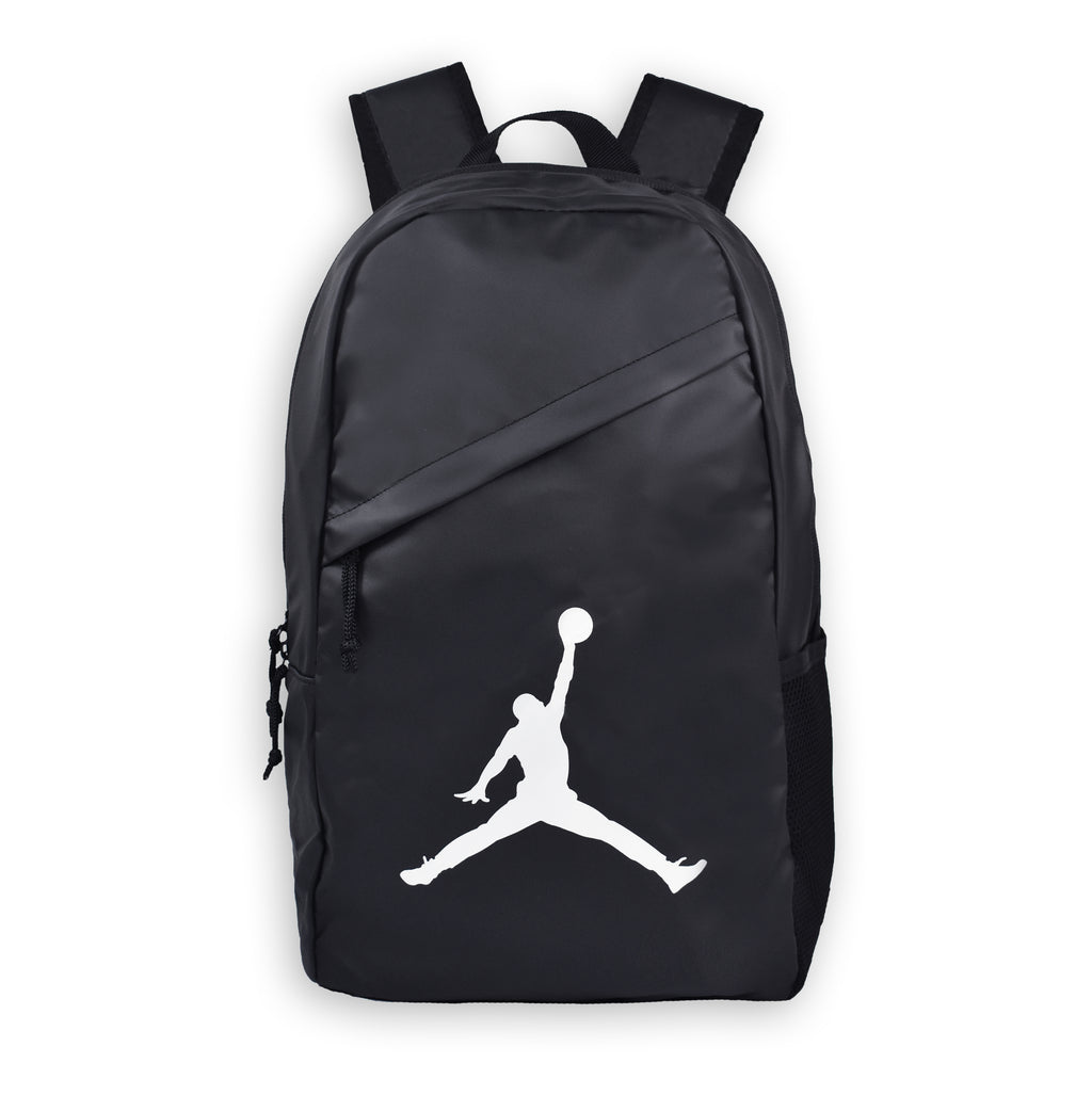 JORDAN Backpack Crossover Pack, Black color, Front side, Big Logo - Rookie Hong Kong