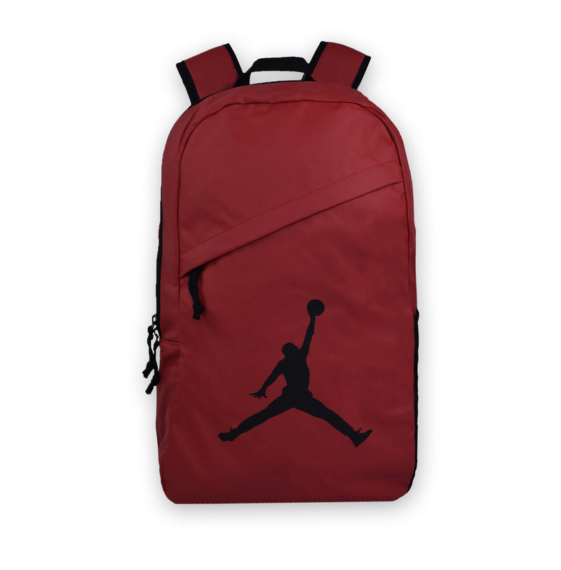JORDAN Backpack Crossover Pack, Red color, Front side, Big Logo - Rookie Hong Kong