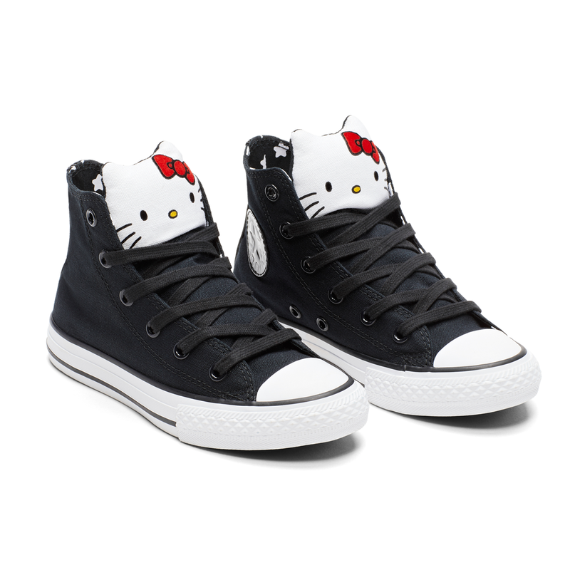 CONVERSE X Hello Kitty CHUCK TAYLOR ALL STAR HI (5 yr - 8 yr)