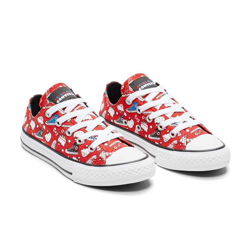 CONVERSE X Hello Kitty CHUCK TAYLOR ALL STAR OX (5 yr - 8 yr)