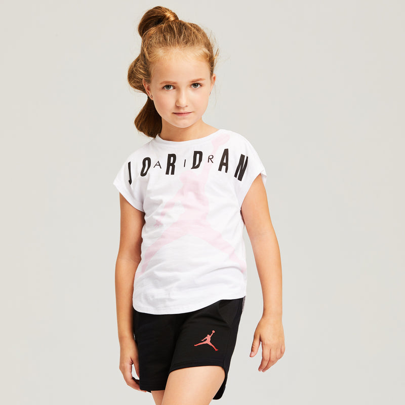 JORDAN Girls Short Sleeve T-Shirt