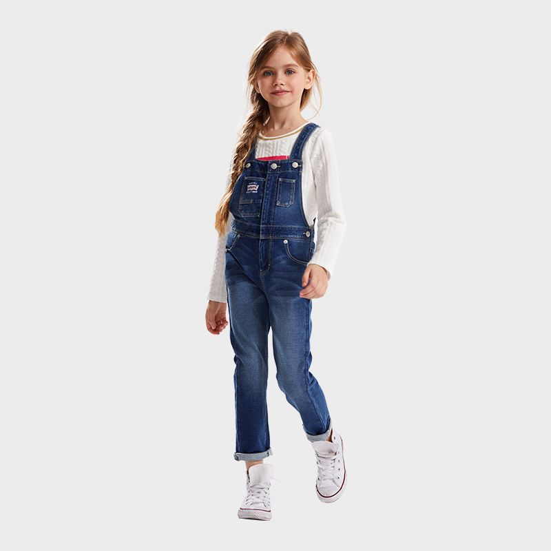 LEVI'S Girls' Vintage Suspenders Trousers