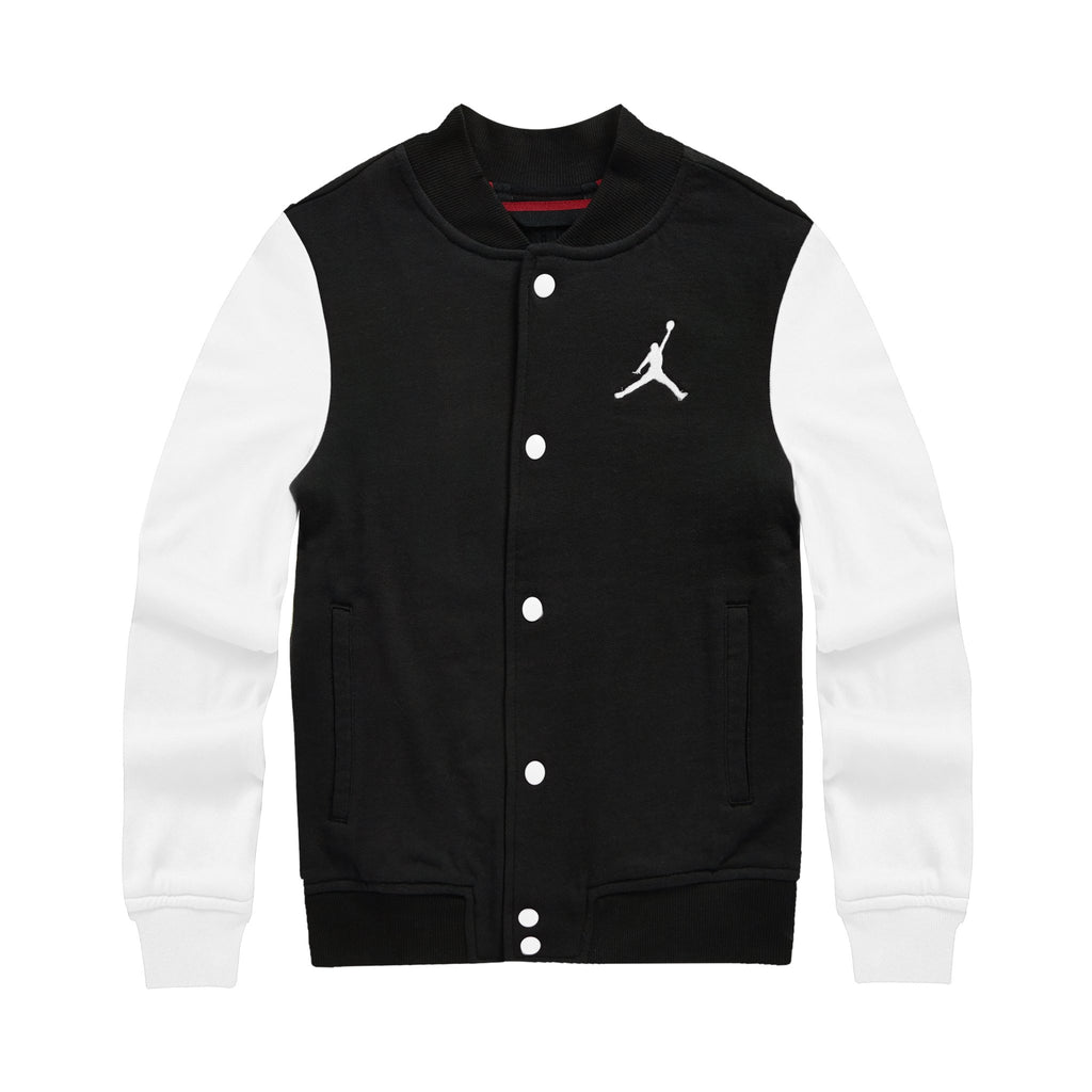 JORDAN AJ Jacket, Black Color, Front side - Rookie Hong Kong