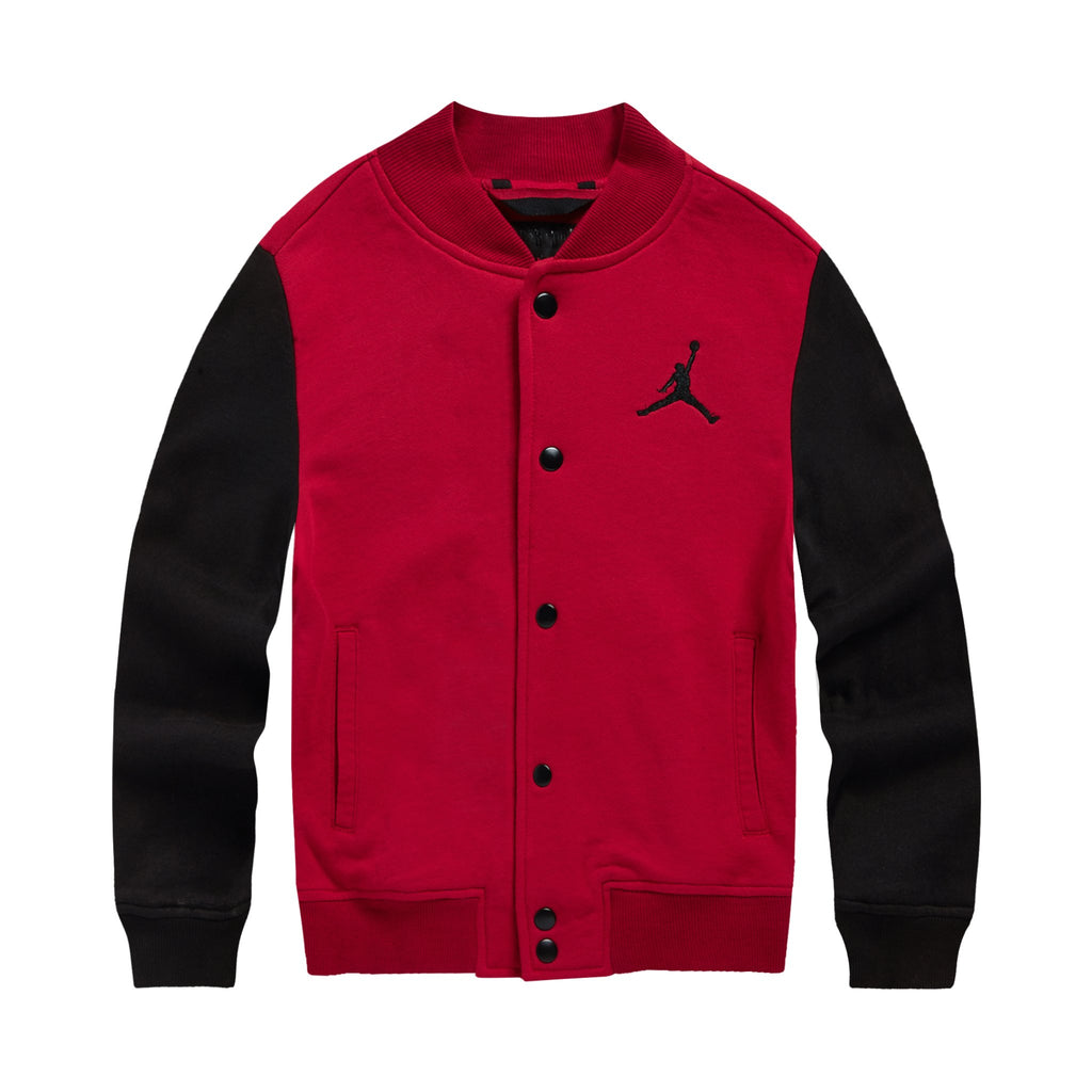 JORDAN AJ Jacket, Red Color, Front side - Rookie Hong Kong