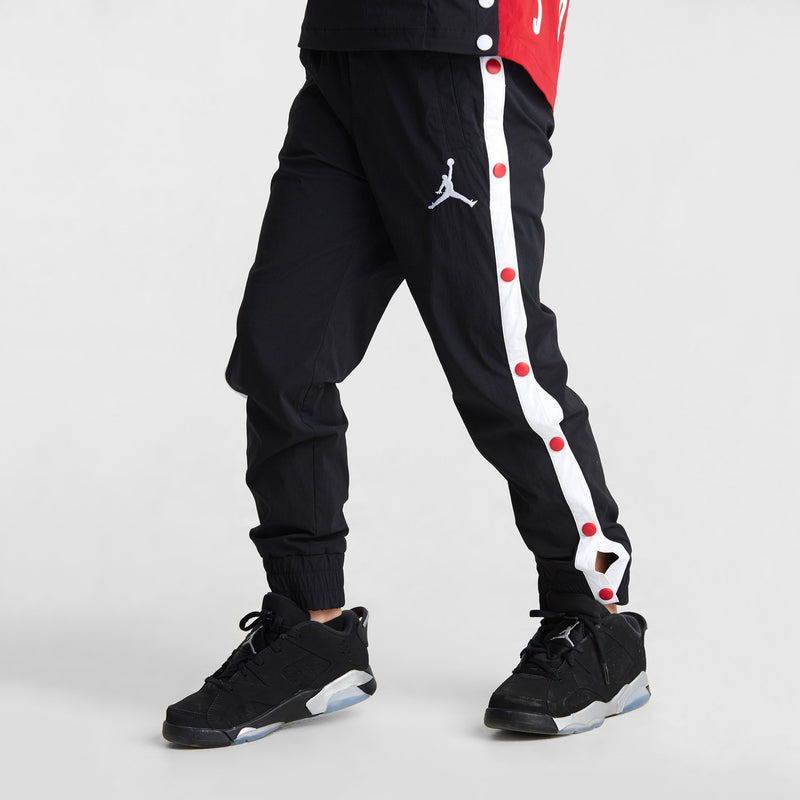 JORDAN AJ 90'S Snapaway Pants, Black color, Kids - Rookie Hong Kong