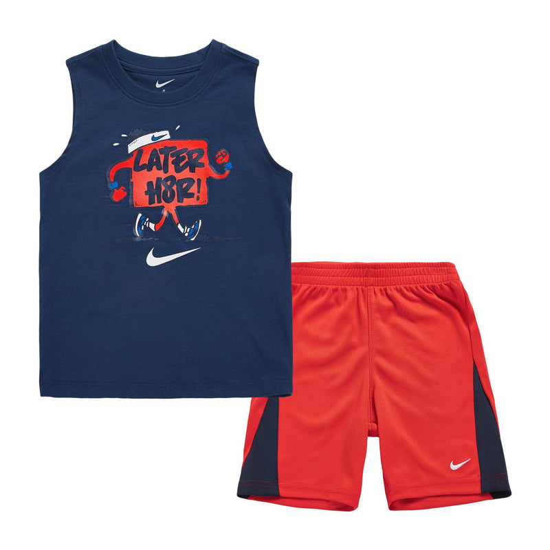 NIKE Later H8TR Muscle Top & Short Set