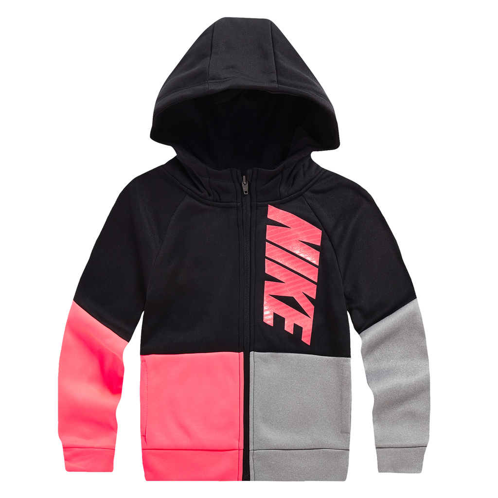 NIKE Girls Knit Full Zip Hoodie
