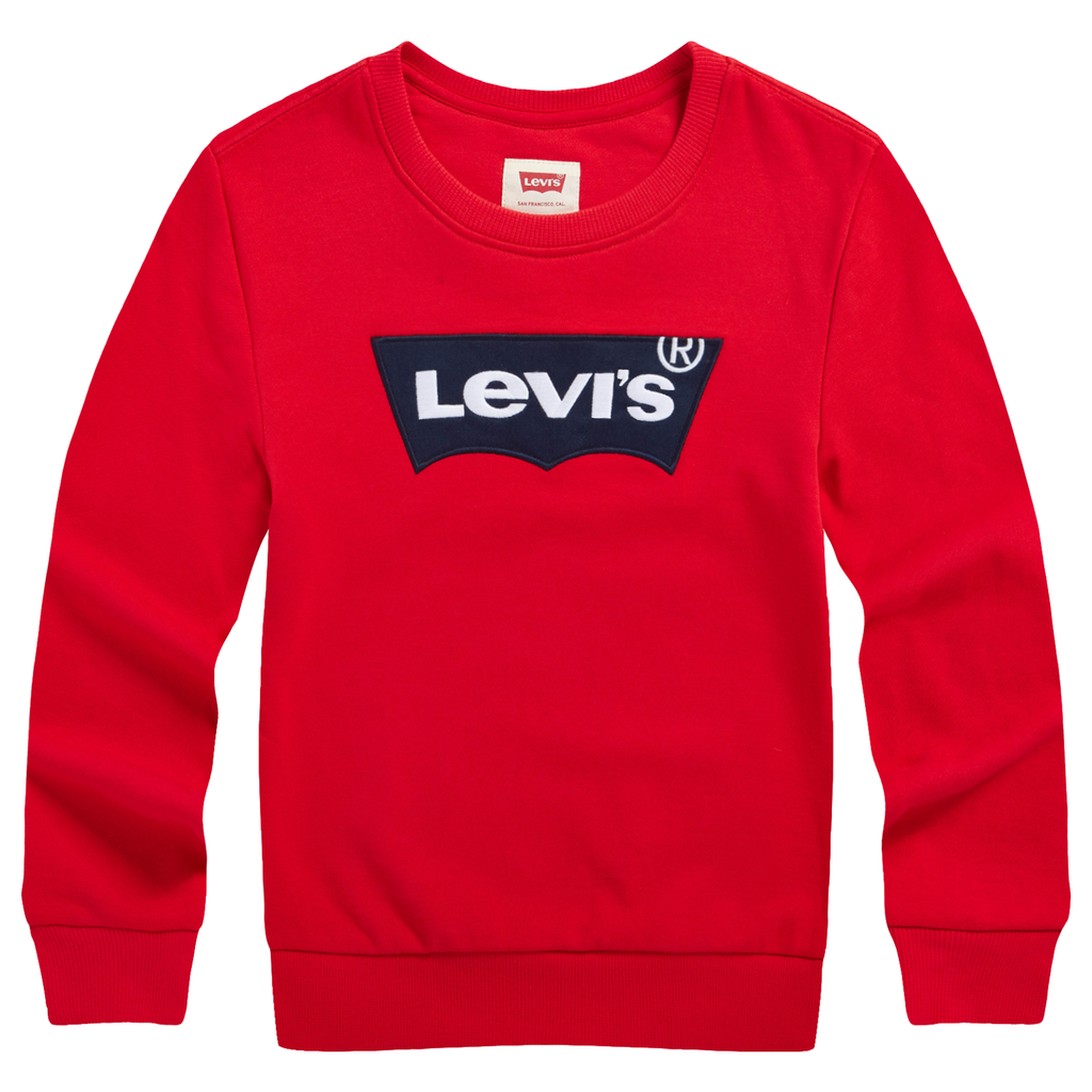 LEVI'S Boys Classic Long Sleeves Pullover