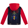 LEVI'S Boys Denim Red Long Sleeves Jacket