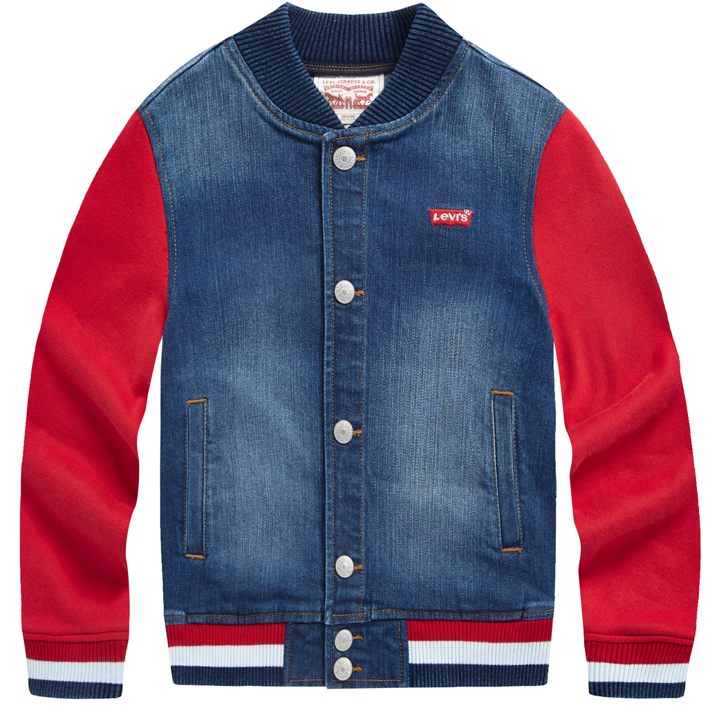 LEVI'S Boys Denim Long Sleeves Jackets