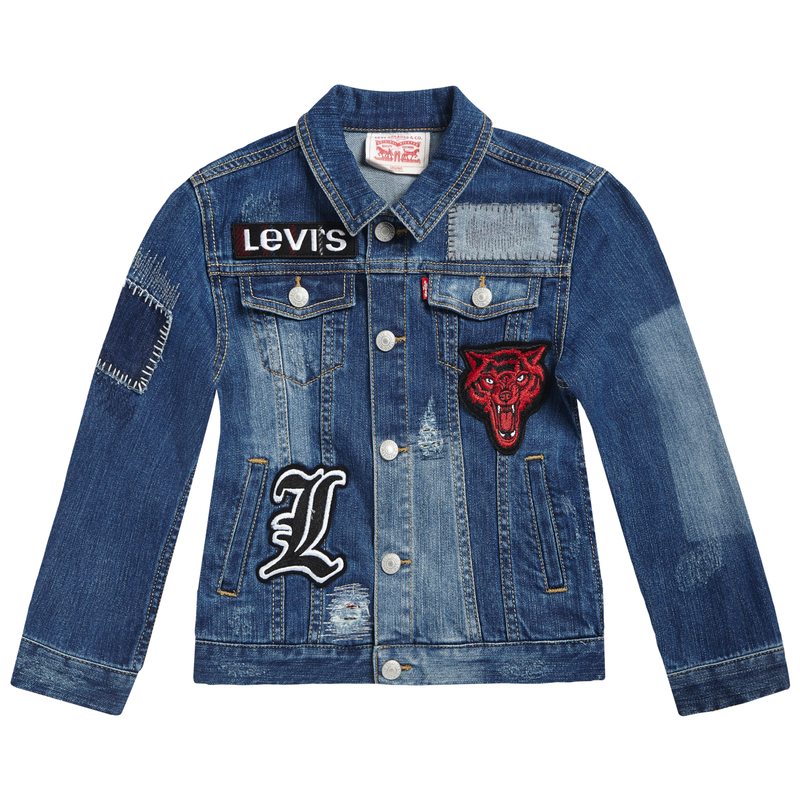 LEVI'S Boys Vintage Badge Denim Jackets