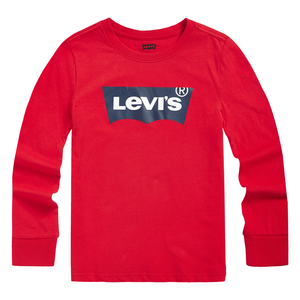 LEVI'S Boys Classic Logo Print Long Sleeves T-Shirt