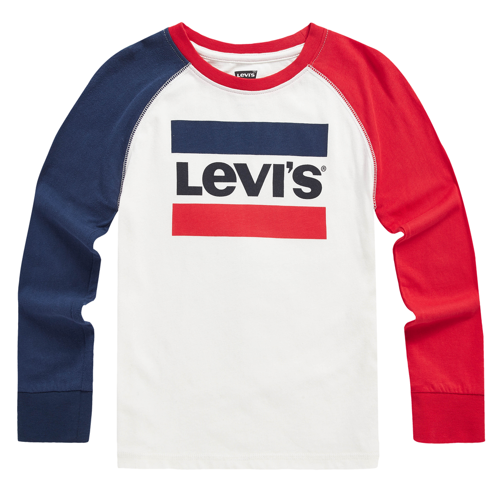 LEVI'S Boys Classic Logo Long Sleeves T-Shirt