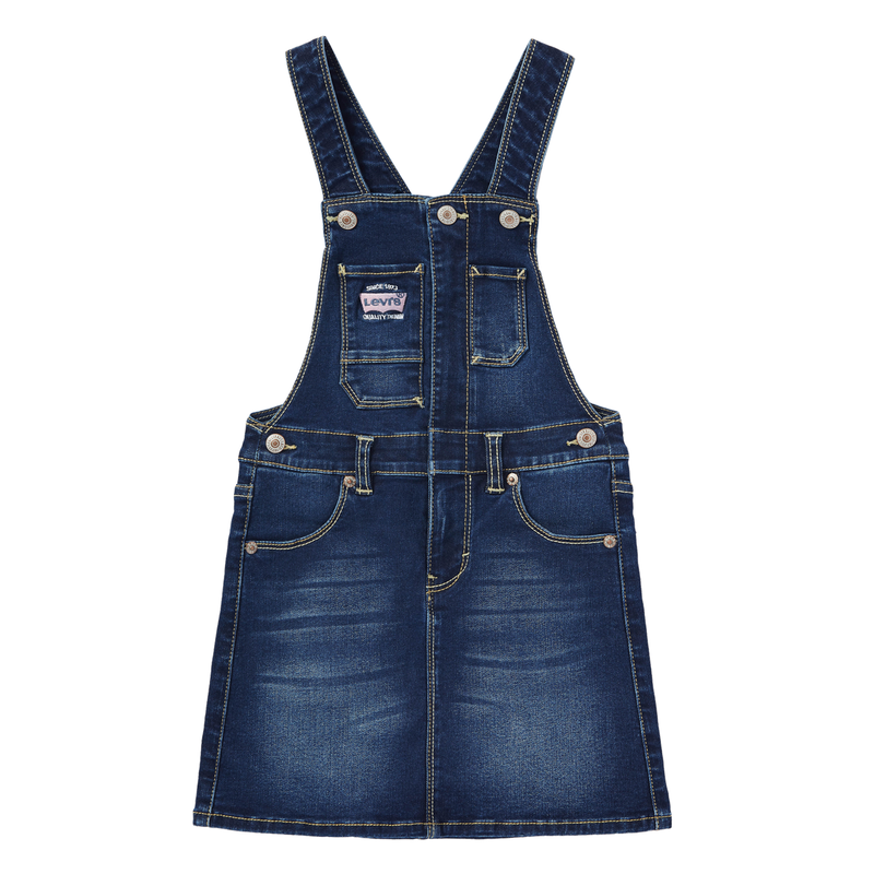 LEVI'S Girls' Vintage Suspenders Skirt
