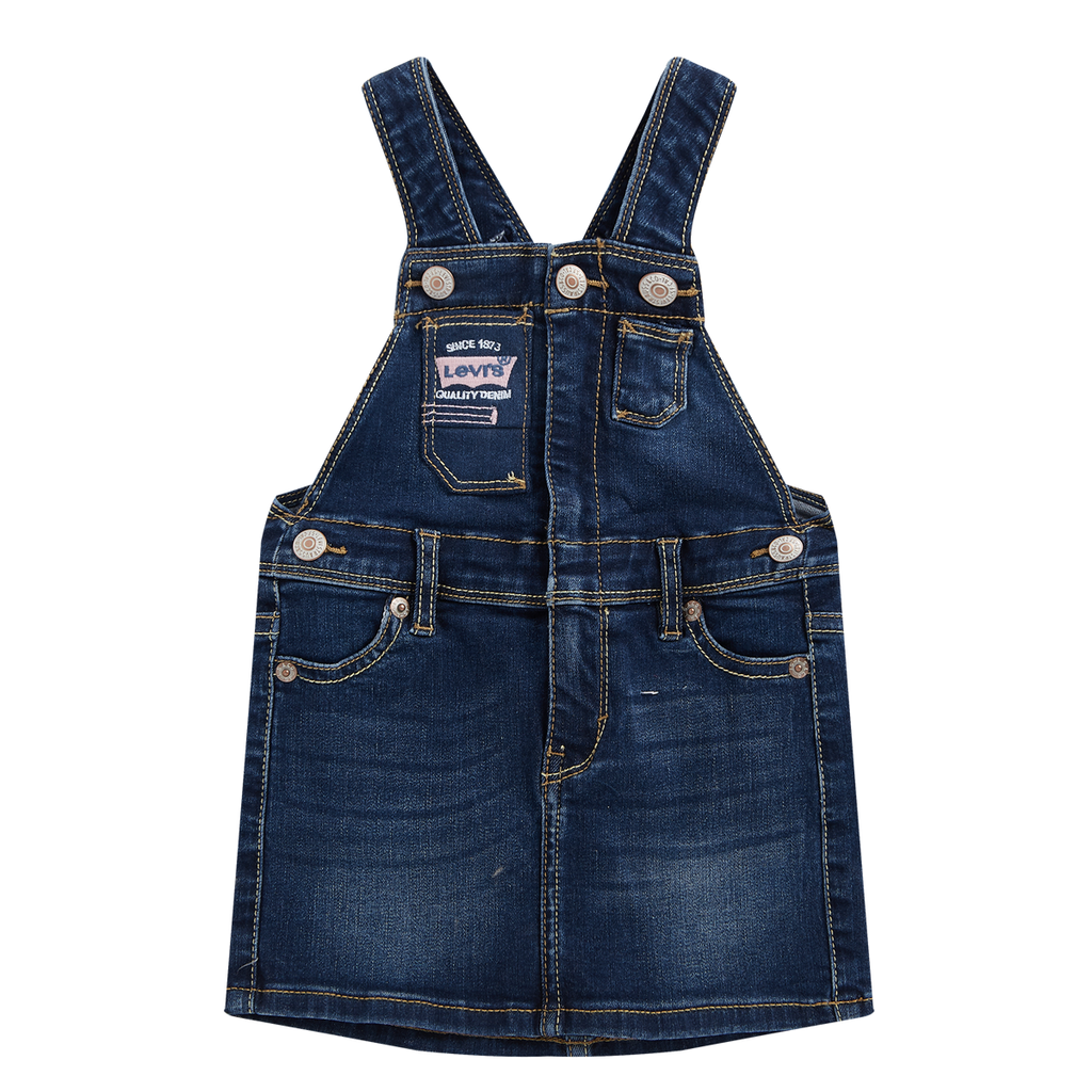 LEVI'S Baby Girls' Vintage Suspenders Skirt