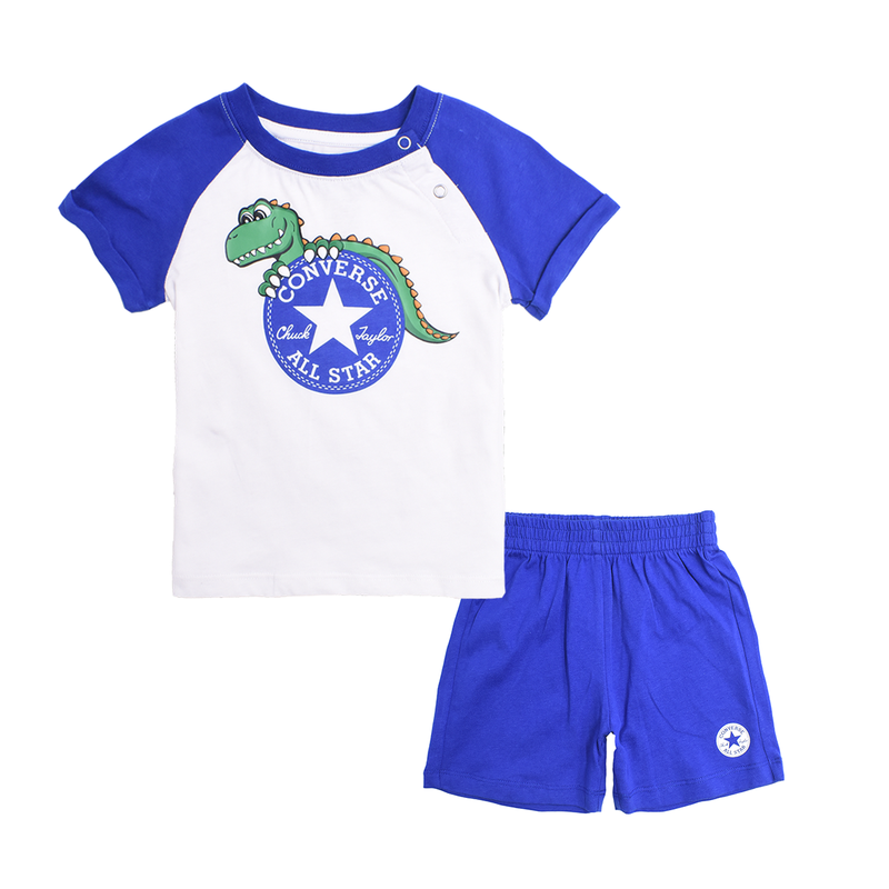 CONVERSE Boys Short Sleeve T-Shirt Set