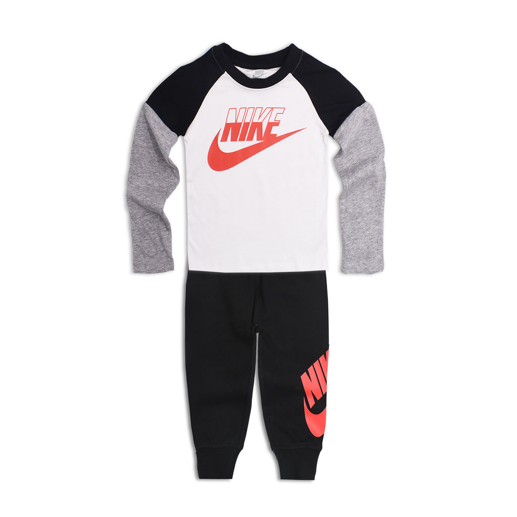 NIKE Boys Long Sleeve T-Shirt Two Piece Set