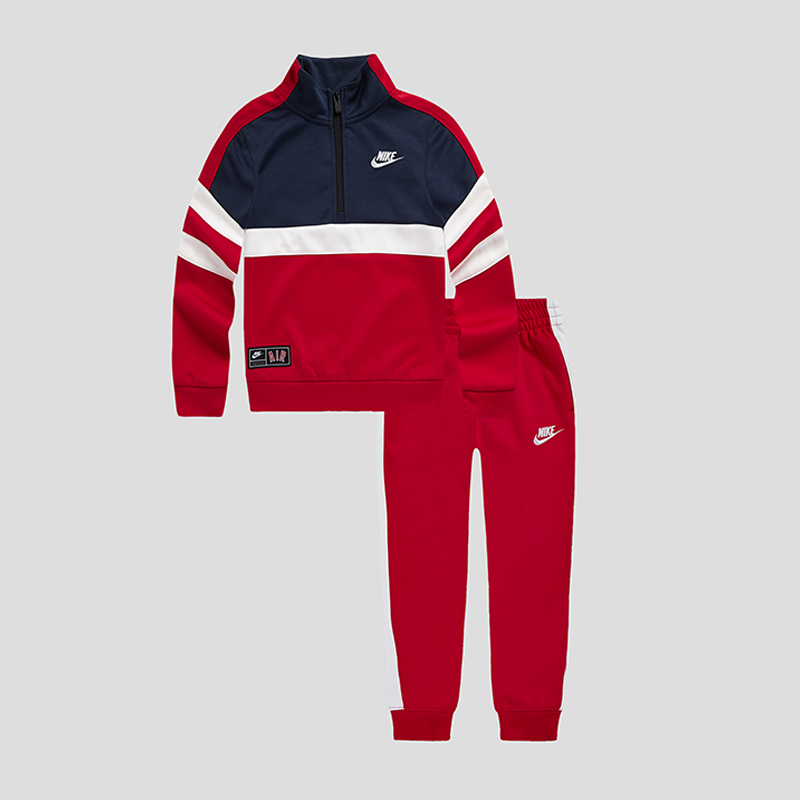 NIKE Boys Front Zip Set