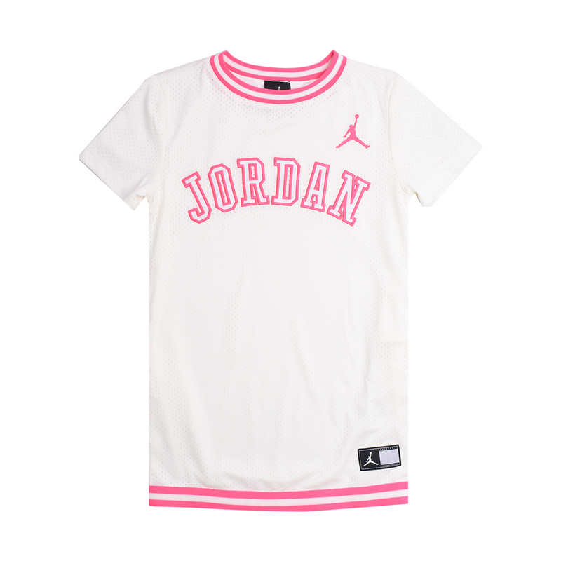 JORDAN Girls One Piece Short Sleeve Dress