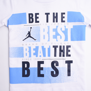 JORDAN Boys Short Sleeve Tee Set