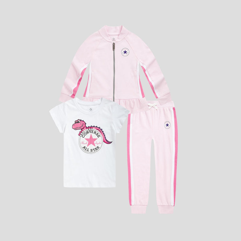 CONVERSE Girls Coat Set