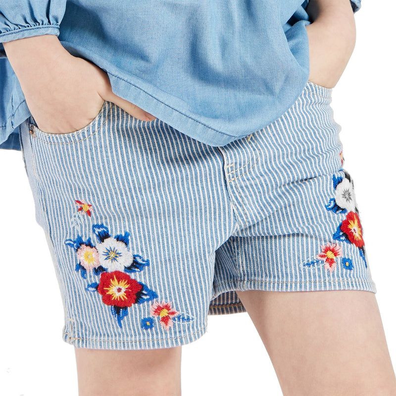LEVI'S Embroidery Shorty Short