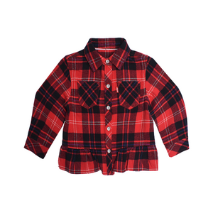 LEVI'S Girls Long Sleeve Shirt