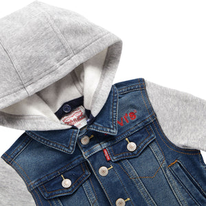 LEVI'S Baby Boy Long Sleeves Denim Jacket