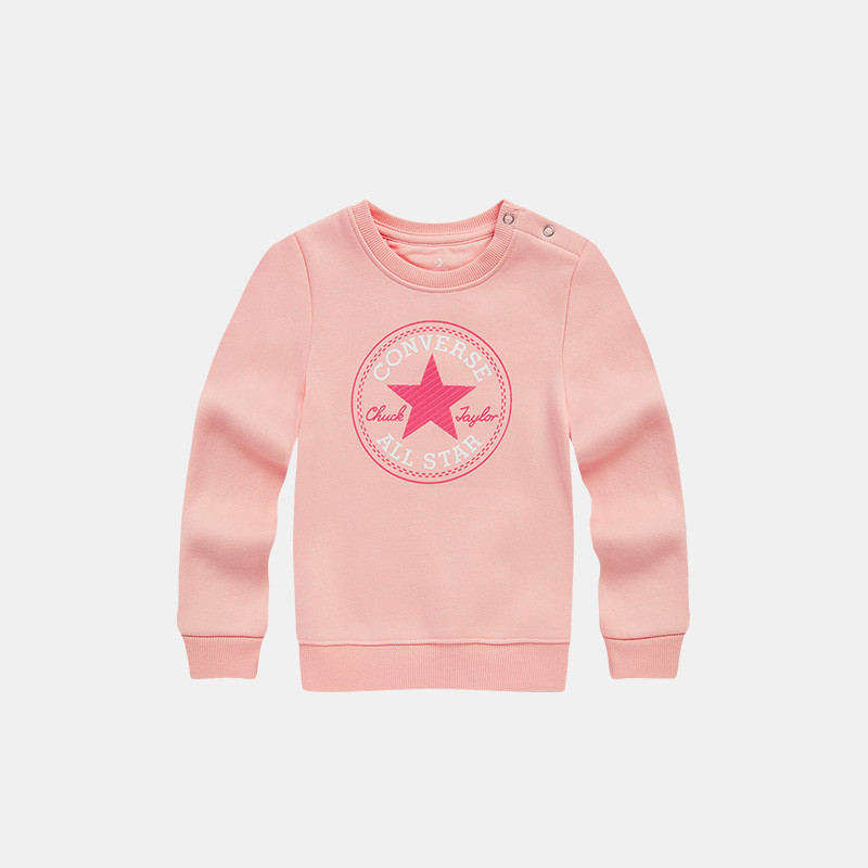CONVERSE Girl's Round Neck Pullover