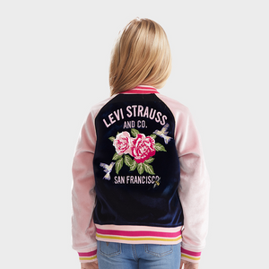 LEVI'S Girls Floral Print Jacket