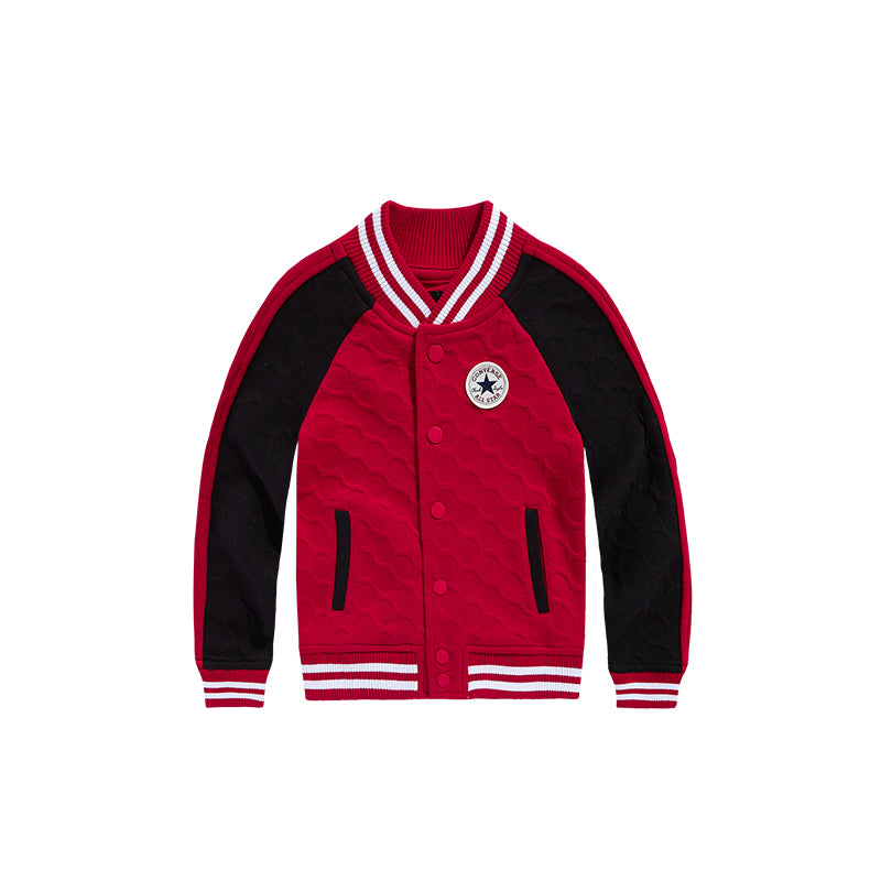 CONVERSE Long Sleeve Baseball Jacket