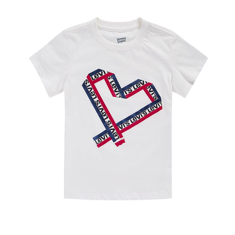 LEVI'S Girls Short Sleeve T-Shirt