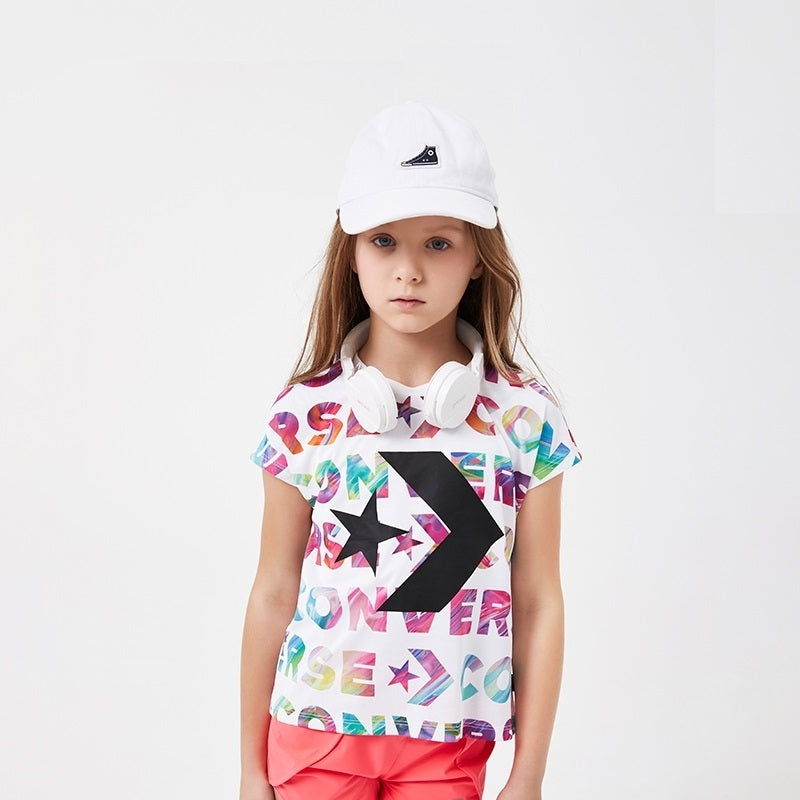 CONVERSE Girls Short Sleeve T-Shirt