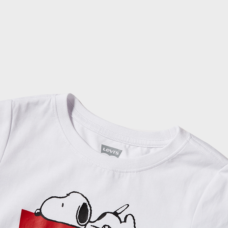 LEVI'S X PEANUTS Girls Short Sleeve T-Shirt