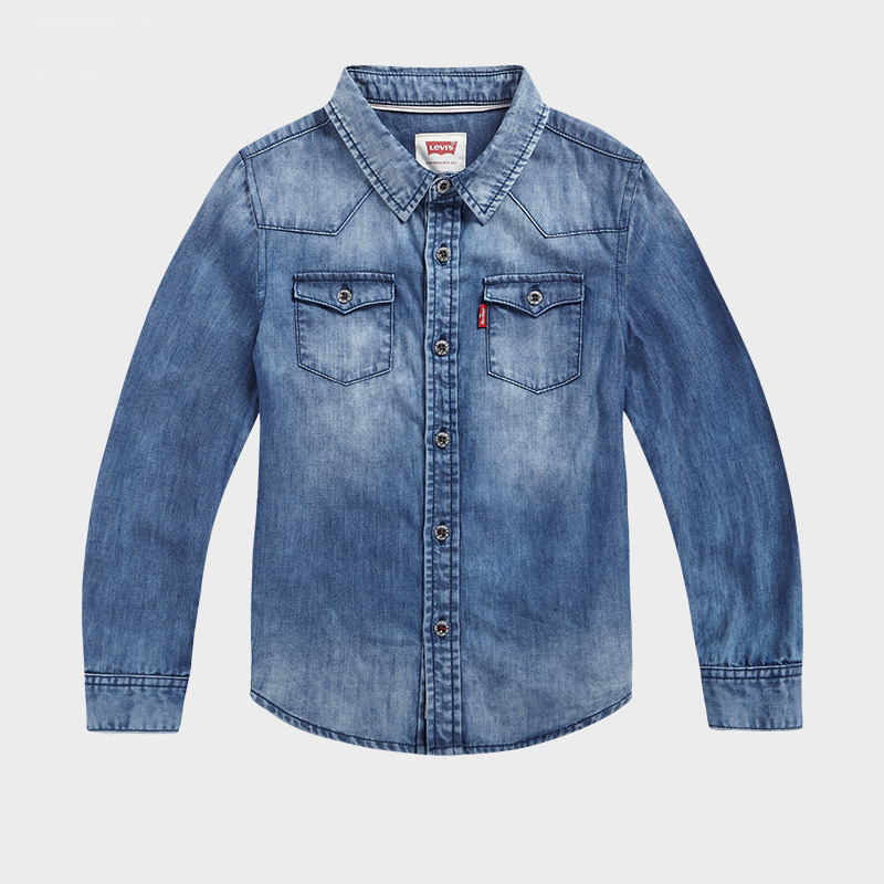 LEVI'S Boys Long Sleeve Shirt