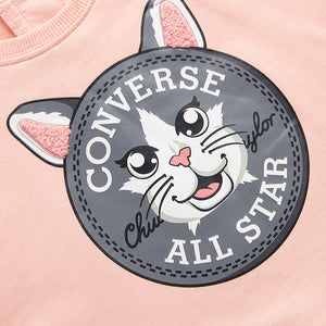 CONVERSE Baby Girl's Round Neck Pullover