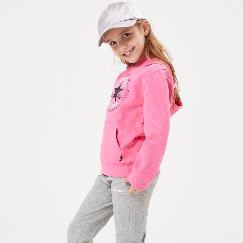 CONVERSE Girls Pullover Hoodie