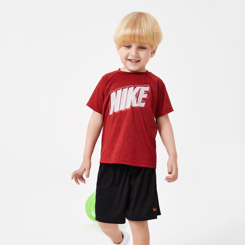 NIKE Boys Short Sleeve T-Shirt Set