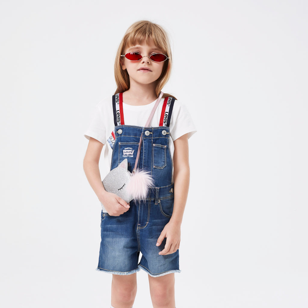 LEVIS' Girls Straps Shorts