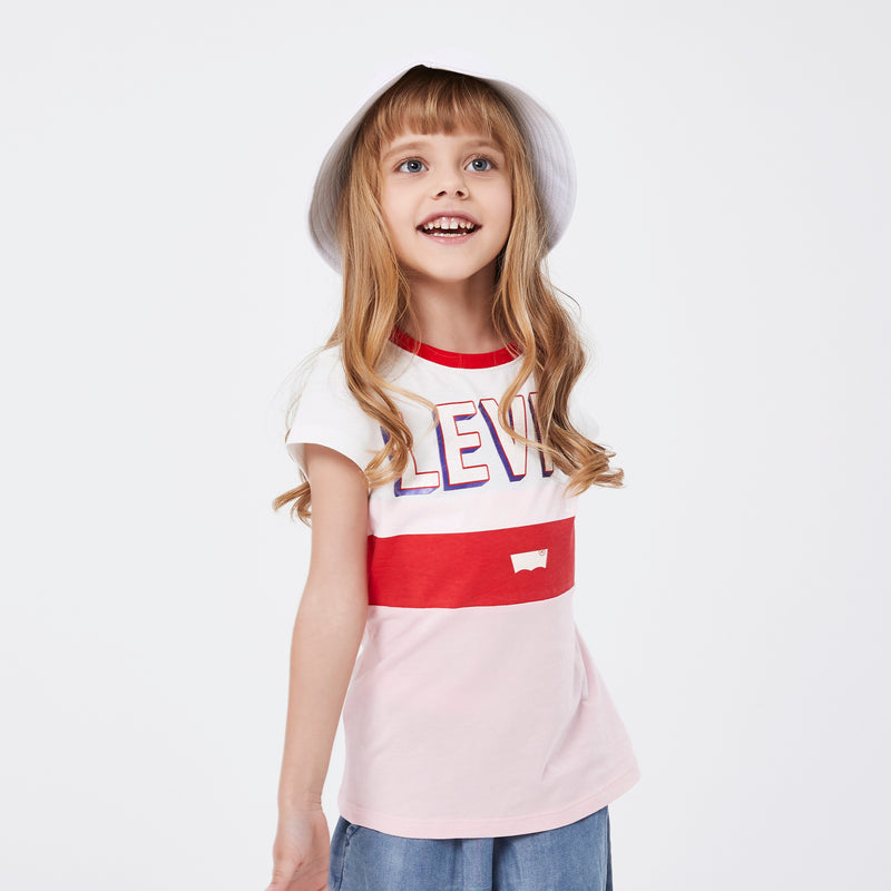 LEVI'S Girls Short Sleeve Tee