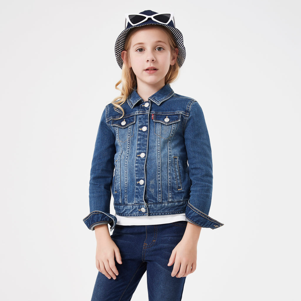 LEVI'S Girl's Denim Jacket